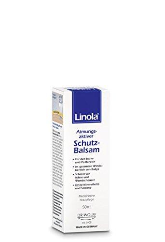 Linola Schutz-Balsam, 1 x 50 ml - Effektiver...