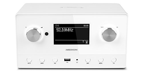 MEDION P85066 WiFi Stereo Internet-Radio,...