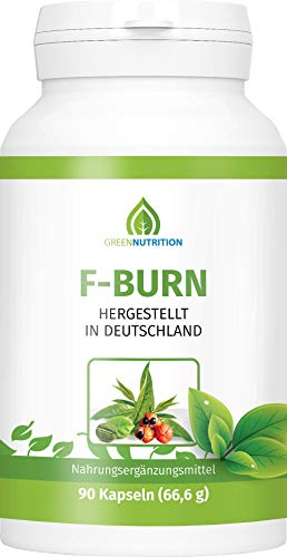 Green Nutrition | F-Burn mit Grüntee-Extrakt | 90...