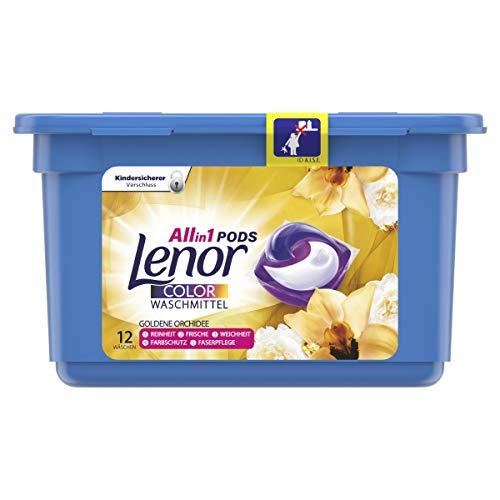 Lenor All-in-1 PODS Waschmittel Goldene Orchidee,...