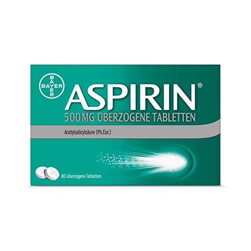 Aspirin 500 mg überzogene Tabletten, 80 St....