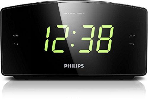 Philips AJ3400/12 Radiowecker/Uhrenradio (Großes...