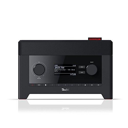 Teufel Radio 3sixty Schwarz Stereo Lautsprecher...