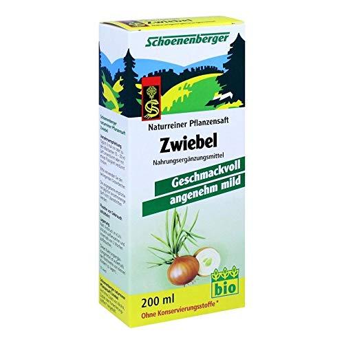 ZWIEBELSAFT naturrein Schoenenberger 200 ml