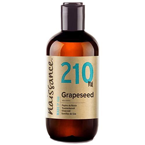 Naissance grape seed oil (No. 210) 250ml 100% ...