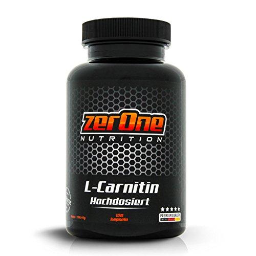Premium L-Carnitin Kapseln hochdosiert | gut...