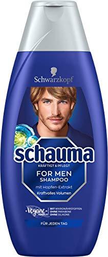 Schwarzkopf Schauma Shampoo For Men, 5er Pack (5 x...