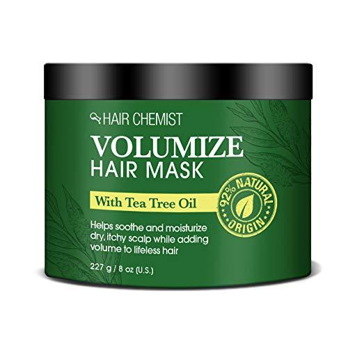 Hair Chemist Volumize Haarmaske mit Teebaumöl 235...