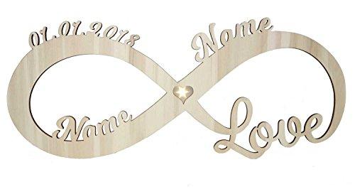 Liebeslicht Herz Liebe I Personalisiert mit Namen...