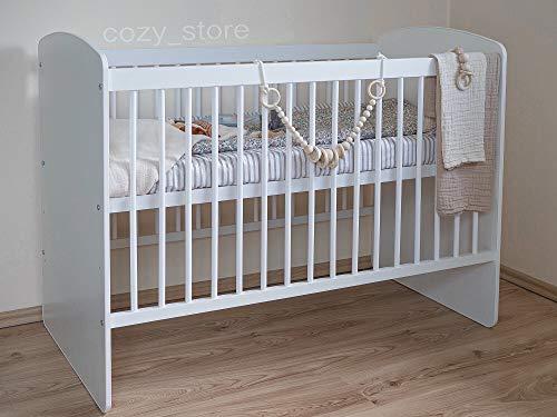 SOCOZY BABY Gitterbett Babybett Kinderbett mit...
