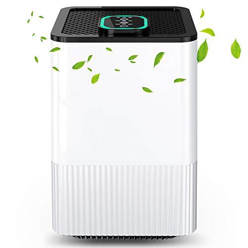 Luftreiniger 4 in 1 mit HEPA-Filter und Ionisator,...