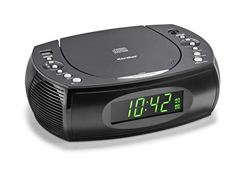 Karcher UR 1308 Radiowecker mit CD Player und UKW...