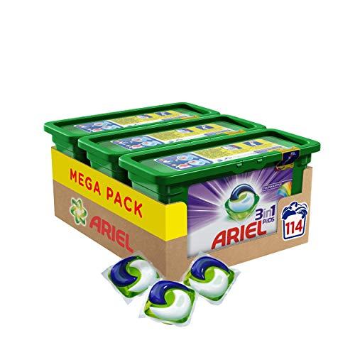 Ariel 3in1 PODS Colorwaschmittel, 114...