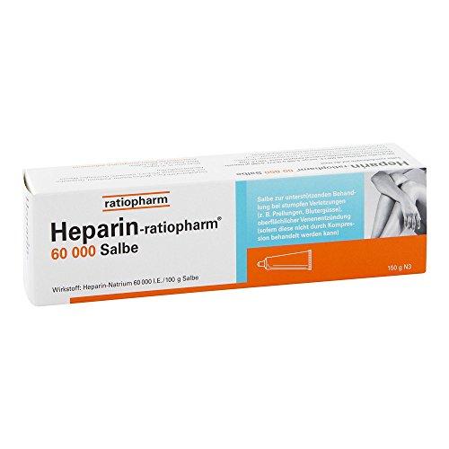 Heparin-ratiopharm 60000 150 g