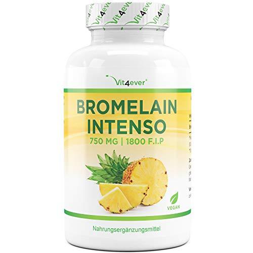 Vit4ever Bromelain Intenso - 750 mg (1800 F.I.P) -...