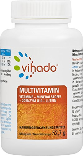 Vihado Multivitamin Tabletten hochdosiert - 26...