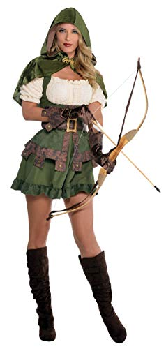 amscan 844578-55 Damenkostüm Robin Hoodie,...