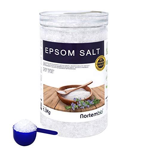Epsom Salz NortemBio 4x1,3 Kg. Konzentrierte...