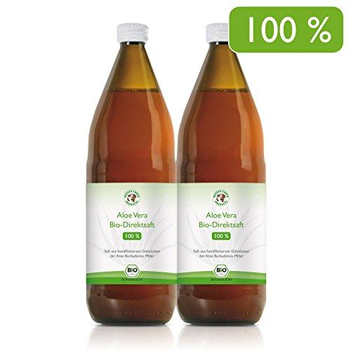 Aloe Vera Bio-Direktsaft 100% | Handfiletiert |...