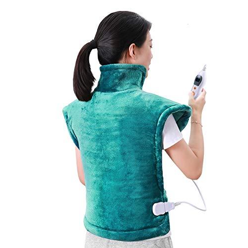60 x 85 cm Heizkissen für Rücken Schulter Nacken...