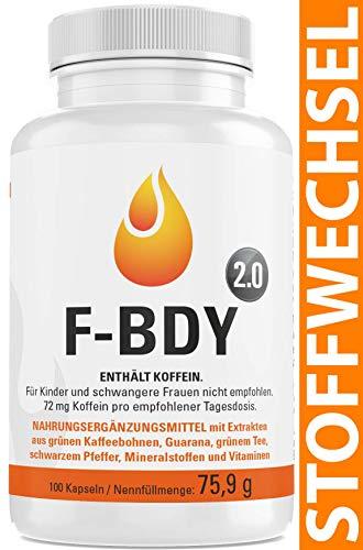 Vihado F-BDY 2.0 - Stoffwechsel Komplex Kapseln,...