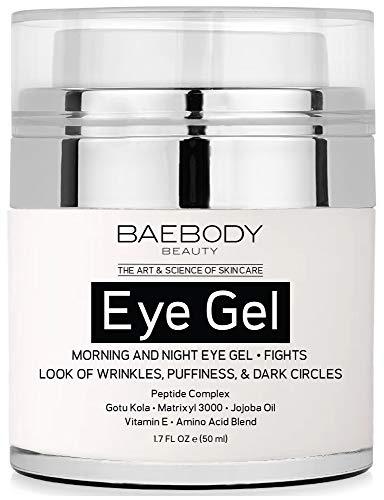 Baebody Eye Gel for Dark Circles, Puffiness,...