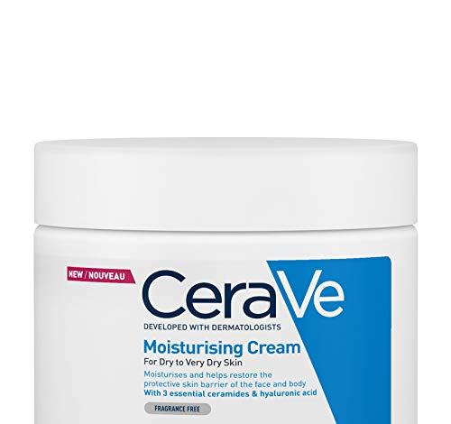 CeraVe Feuchtigkeitscreme für Gesicht und Körper...