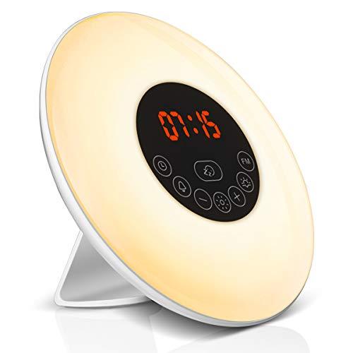 Elfeland LED Lichtwecker Wake Up Licht...