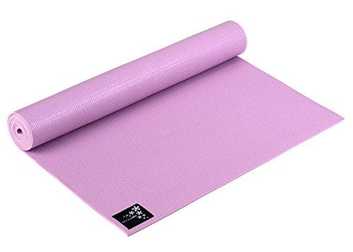 Yogistar Yogamatte Basic - rutschfest - Rose