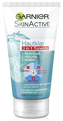 Garnier Hautklar 3 in 1 Gesichtsreinigung Und...