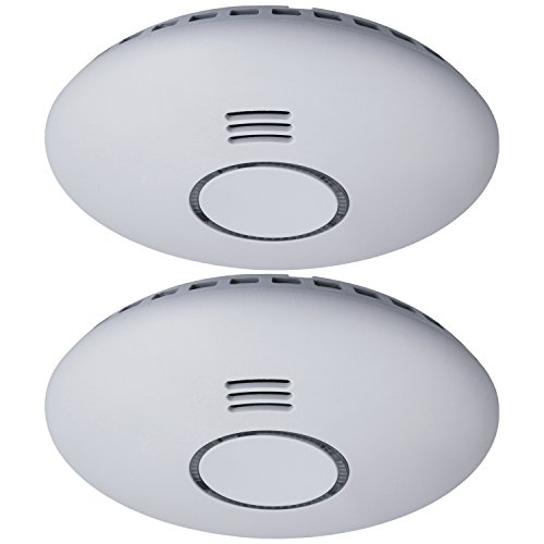 Smartwares RM174RF/2 , Funk-Rauchmelder, flaches...