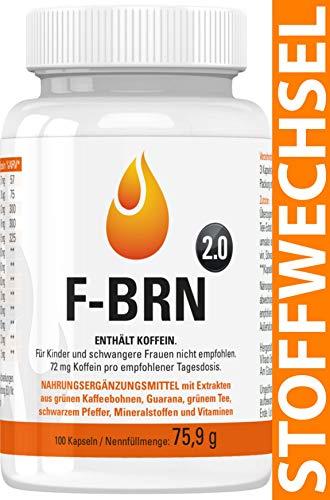 Vihado F-BRN 2.0 - Stoffwechsel Komplex Kapseln,...