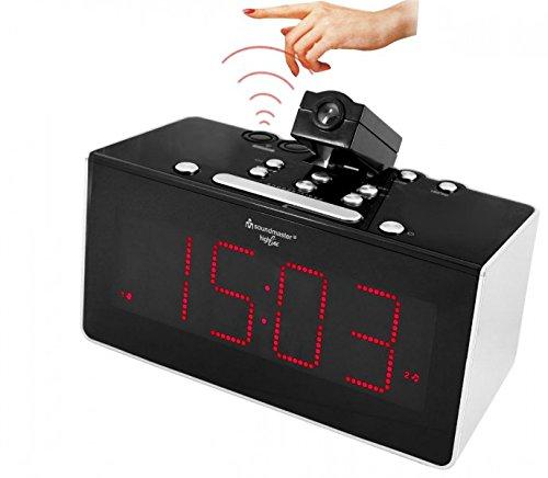 Soundmaster FUR6005 Funkgesteuertes Uhrenradio mit...