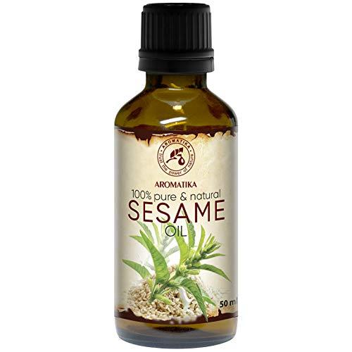 Sesam Öl 50ml - Kaltgepresst & Raffiniert - 100%...