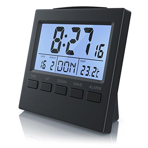 CSL - Funkwecker digital mit Temperaturanzeige -...