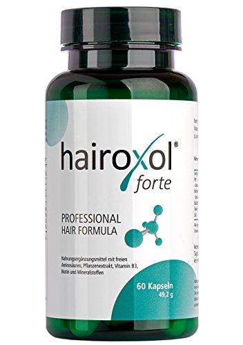 Hairoxol Vitamine für Haare von Frauen + Männer...