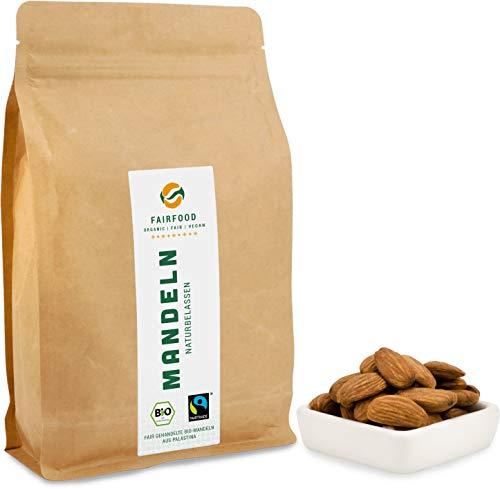 Bio Fairtrade Mandeln: Rohkost und Naturbelassen...