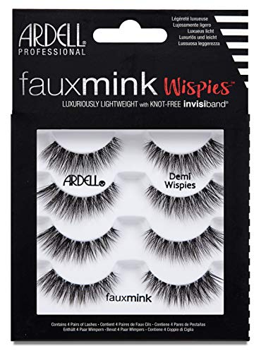 ARDELL Faux Mink Demi Wispies 4 Pack, 25 g