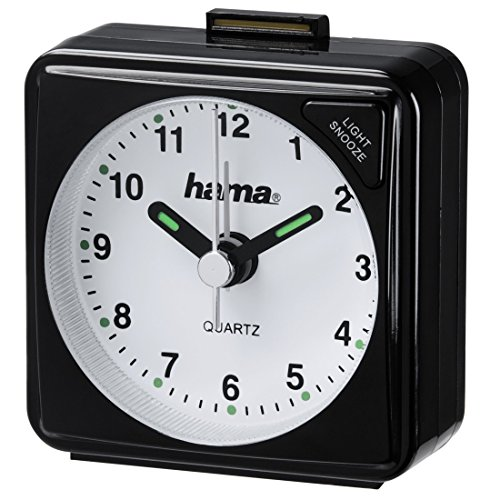 Hama Reise Wecker (selbstleuchtender Minuten- und...