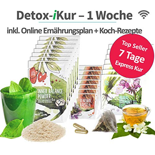 Cleansing-Kur   3-Wochen   100% vegetarischer...