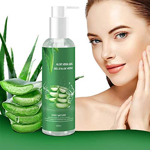 Aloe Vera Gel - 100% Bio für Gesicht, Haare und...