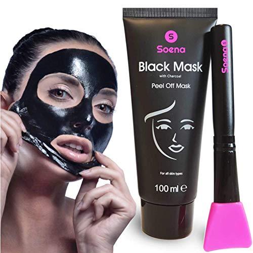 Das ORIGINAL - SOENA Black Mask + MASKENPINSEL |...