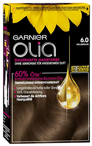 Garnier Olia Haar Coloration Hellbraun 6.0 /...