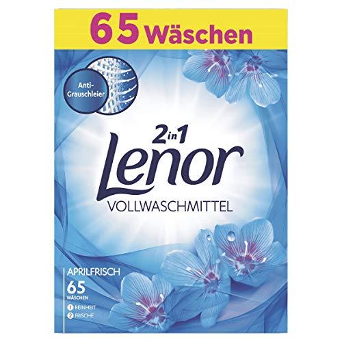 Lenor Vollwaschmittel Pulver Aprilfrisch, 4kg,...