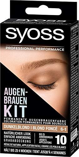 Syoss Augenbrauen-Kit 6-1 Dunkelblond, 1er Pack (1...