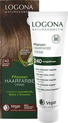 LOGONA Naturkosmetik Pflanzen-Haarfarbe Creme 240...