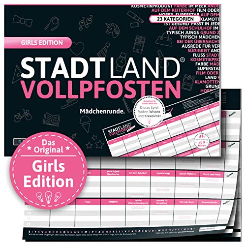 DENKRIESEN - Stadt Land VOLLPFOSTEN® - Girls...