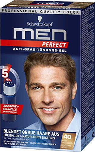 Schwarzkopf Men Perfect Anti-Grau-Tönungs-Gel, 40...