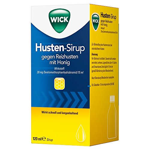Wick Husten Sirup Gg.Reizhusten M.Honig, 120 ml
