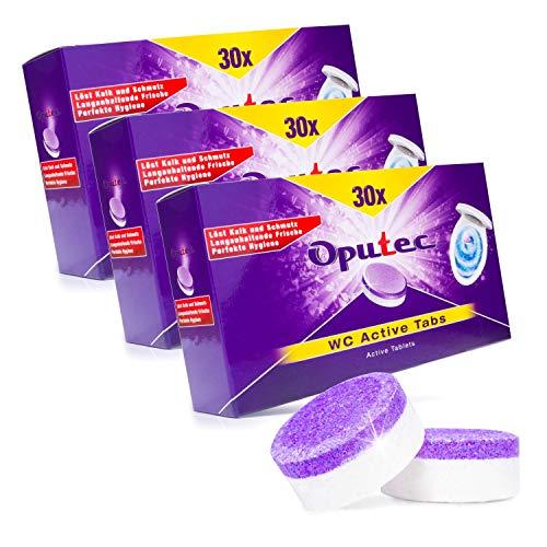 90x Oputec WC/Toiletten Active Tabs - Hygienische...